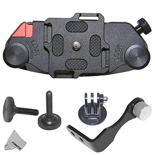 """Fomito Aktualisiert K1 Kamera Clip Taille Spider Gürtel Holster 1/4 """"Schraube Schnellverschluss Gürtelschnalle für DSLR Digital SLR Kamera GoPro, etc"""