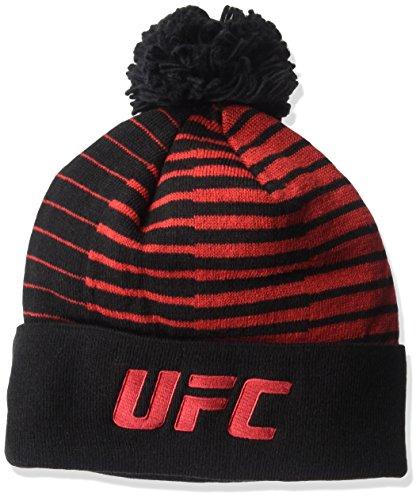 Reebok Unisex Rot aus Streifen Cuffed Pom Knit, unisex, Red Out of Stripes Cuffed Pom...
