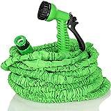 TRESKO® flexiSchlauch - Flexibler Gartenschlauch Wasserschlauch dehnbar