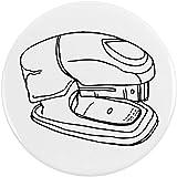 Azeeda 77mm 'Engrapadora' Insignia de Botón Pin (BB00025613)