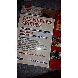 rs aggarwal quantitative aptitude