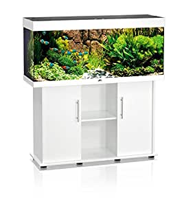 juwel aquarium rio 240 high lite mit abdeckung wei haustier. Black Bedroom Furniture Sets. Home Design Ideas