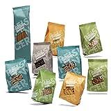 Reishunger Reispasta 9er Set - Glutenfreie Nudeln aus Reis, Mais, Linse, Erbse, Buchweizen oder Kichererbsen...