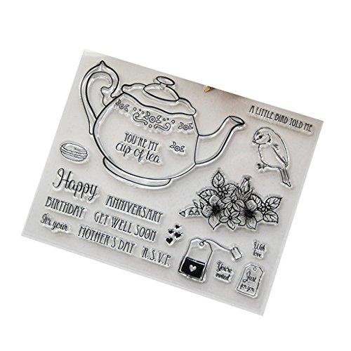 tempel-Set, transparent - Kartenherstellung und Kunst - Beste Halloween-Thanksgiving-Weihnachtsgeschenke ()
