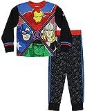 Marvel Jungen Avengers Schlafanzug Iron Man Captain America Thor Hulk 128