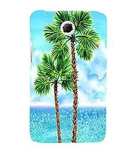 PrintVisa Travel Beach Art Design 3D Hard Polycarbonate Designer Back Case Cover for Lenovo K880