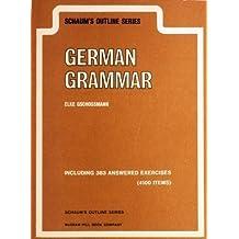 German Grammar (Schaum's Outline)