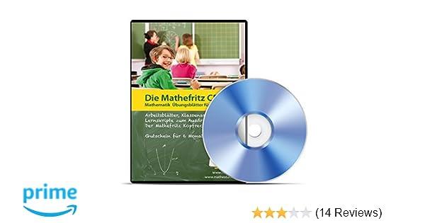 Die Mathefritz CD für Gymnasien, Gesamtschulen, Realschulen für die ...