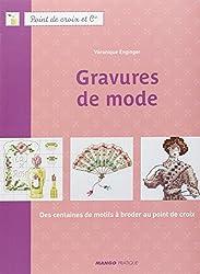 Gravures de mode : Des centaines de motifs à broder au point de croix