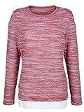 Damen 2-in-1 Pullover in modischer 2in1-Optik 38 by KLiNGEL