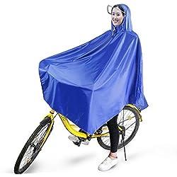 Boonor Poncho De Bicicleta Resistente Al Agua Con Banda Reflectante