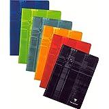 Clairefontaine Metric 63141C Cahier piqué 21 x 29,7 cm 192 pages Seyès grands carreaux Coloris aléatoire