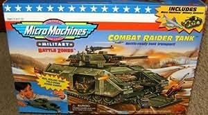 Micro Machines Military Battle Zones Combat Raider Tank