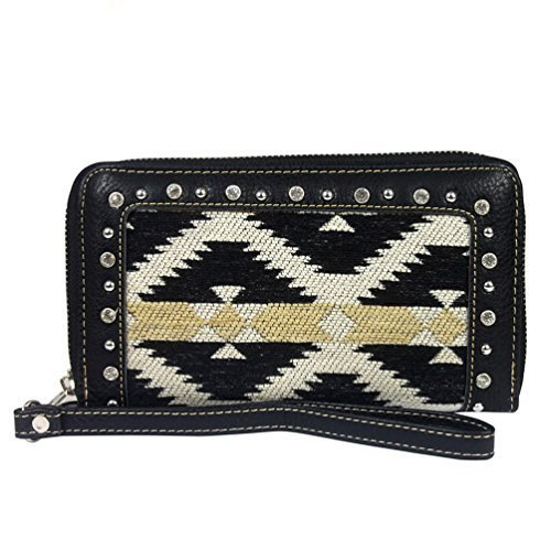 montana-west-aztec-collection-wallet-black