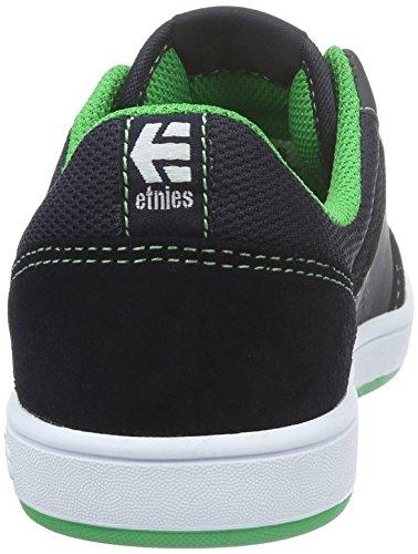 Etnies Kids Marana - Chaussures de Skateboard - Mixte Enfant Bleu (Blue/Green495)