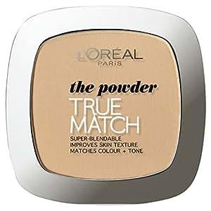 L'Oreal Paris True Match Press Powder, Golden Beige W3 (9g)
