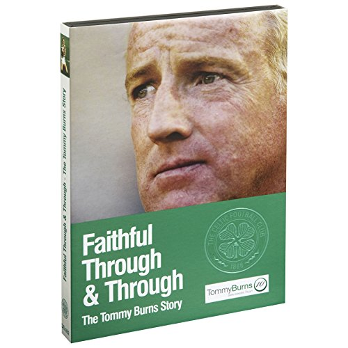 Price comparison product image Kitbag Unisex Celtic Football Club Fans Accessory Faithful Through and Through - The Tommy Burns Story 2 Disc DVD