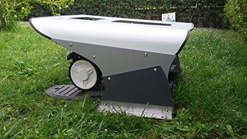 Mähroboter Garage Solar Dach Carport Automower - 2
