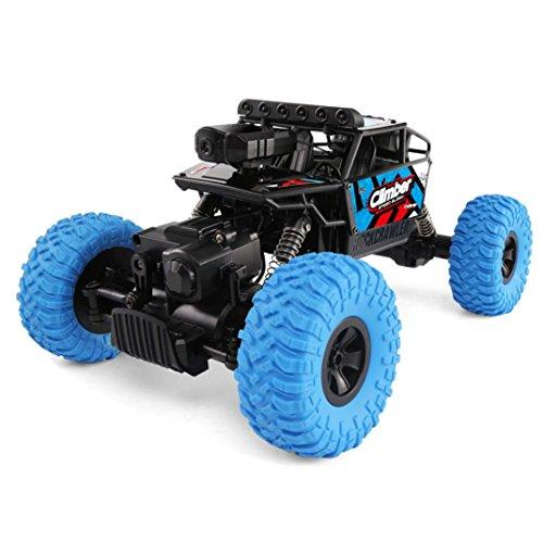 RC Allradantrieb Rennwagen, mamum JJRC Q45Fernbedienung Auto 4WD HD Kamera Wifi FPV 1: 182,4G Offroad RC Auto Spielzeug rot/blau Einheitsgröße blau (Rc-cars Allradantrieb)