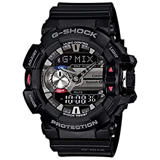 Casio G-Shock Analog-Digital Black Dial Men's Watch – GBA-400-1ADR (G556)