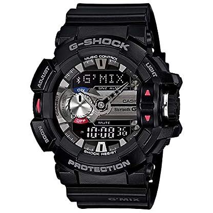 Casio G-Shock Analog-Digital Black Dial Men's Watch – GBA-400-1ADR (G556)