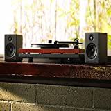 Audioengine A2+ 60W Powered Desktop Speakers   Built-in DAC & Analog Amplifier   Direct USB Connection, 3.5mm and RCA inputs   Cables included (Classic, Black) Bild 5