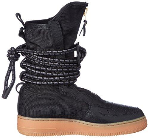 Nike Herren SF Af1 Hi Gymnastikschuhe, Schwarz Schwarz (Black/Gum Medium Brown)