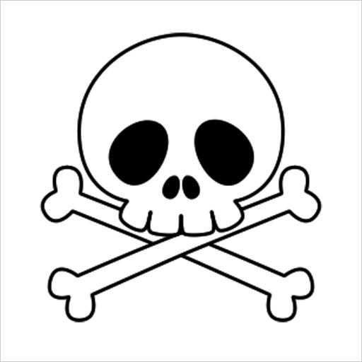 Skull Lace Live Wallpaper