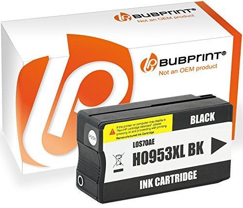 Bubprint Druckerpatrone kompatibel für HP 953XL HP 953 XL schwarz black OfficeJet Pro 8710 8715...