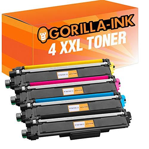 Preisvergleich Produktbild Gorilla-Ink 4X Toner-Patrone XXL mit Chip für Brother TN-243 TN-247 DCP-L3510 DCP-L3550 CDW HL-L3210 CW HL-L3230 CDW HL-L3270 MFC-L3710 CW MFC-L3730 MFC-L3750 MFC-L3770 CDW
