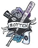EROSPA® Tattoo-Bogen / Sticker temporär - Rotten - Harley Quinn Suicide Squad