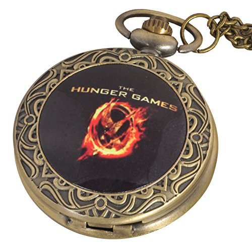 HUNGER GAMES Limited Edition PREMIUM WATCH PENDANT / POCKET WATCH 4.5 cms Diameter
