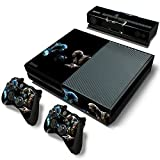 #4: Elton Mortal-Kombat-XL Theme Skin Sticker Cover for Xbox One Console, Kinect & Controllers