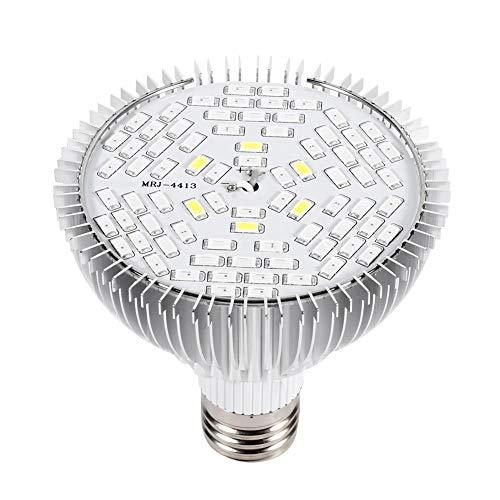 Wachsen Lampe - 1pc 50W Vollspektrum E27 LED Pflanze wachsen Lampen Gartenbau wachsenden Licht für Garten 78 LEDs - 50w Hps Lampe