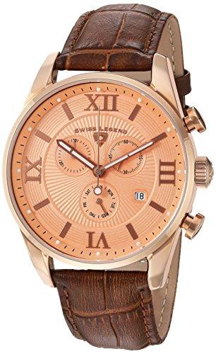 Reloj - Swiss Legend - para Hombre - 22011-RG-09-RA-BRN