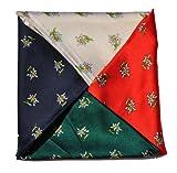 Trachtentuch Halstuch Tuch (Grün)