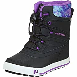 merrell girls ml-girls snow bank 2.0 wtrpf high rise hiking shoes - 517yOrgJtLL - Merrell Girls Ml-Girls Snow Bank 2.0 Wtrpf High Rise Hiking Shoes