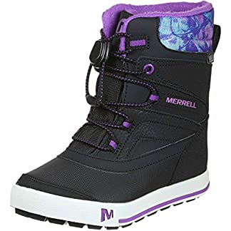 Merrell Girls Ml-Girls Snow Bank 2.0 Wtrpf High Rise Hiking Shoes 12