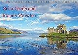 Schottlands und Irlands Westen (Tischkalender 2019 DIN A5 quer): Einige der schönsten Plätze der schottischen und der irischen Westküste werden in ... (Monatskalender, 14 Seiten ) (CALVENDO Natur)