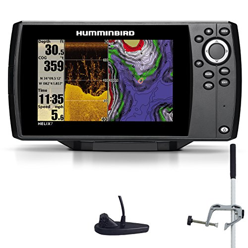 Humminbird Helix 7 DI GPS Down Imaging Echolot Seekartenplotter Combo Portabel Master
