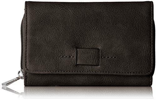 Esprit Accessoires Damen 078ea1v001 Geldbörse, Schwarz (Black), 1x9x14 cm