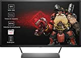 "HP OMEN 32 - Monitor Gaming de 32"" WVA+ (2560 x 1440 a 60 Hz), Color Negro"