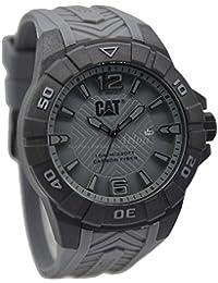 CAT Karbon Men's Watch Grey Dial 45.5 MM Grey Silicone K1.121.25.531
