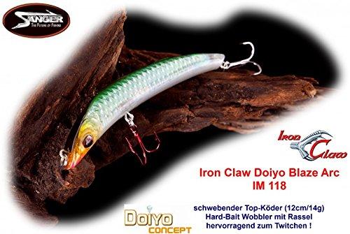 Doiyo Wobbler Conzept Blaze Arc 11,8 cm Farbe SH