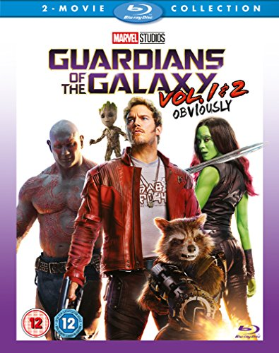 Bild von Guardians Of The Galaxy Vols 1 & 2 [Blu-ray] [UK Import]