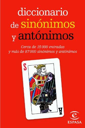 Diccionario mini de sinónimos y antónimos por Espasa Calpe