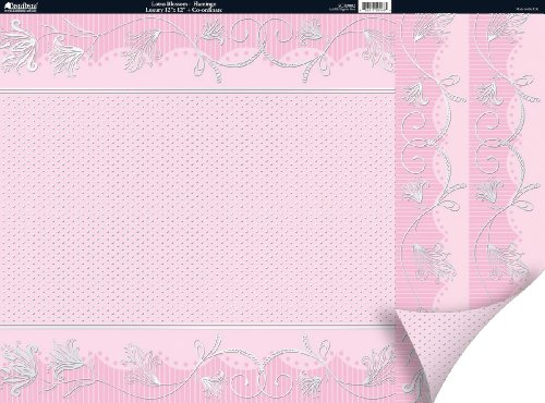 Pink Lotus Blossom (Free As A Bird Double-Sided Plus Cardstock 12