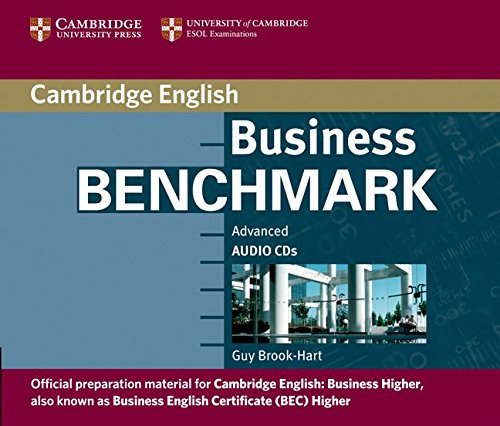 Business Benchmark Advanced Audio CD BEC Higher por Guy Brook-Hart