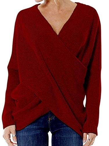 choies-maglione-donna-burgundy-asiatico-l50
