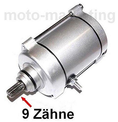 Unbranded ANLASSER Starter Motor für China Quad ATV 125 150 CCM CG 125 150 200 250 9 Zähne